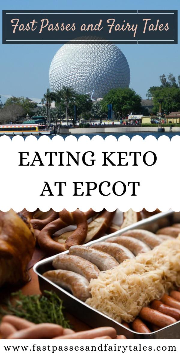 Eating Keto at Epcot