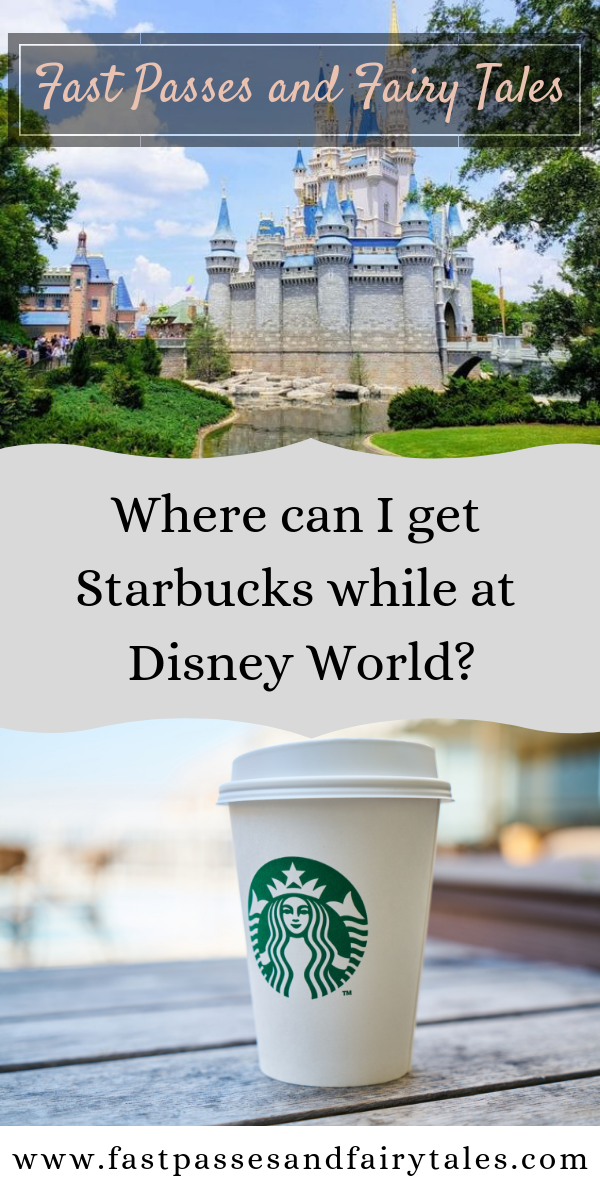 Starbucks at Disney World