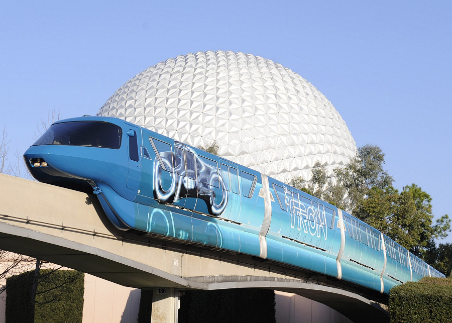 Disney Monorail - Photo Credit Walt Disney World