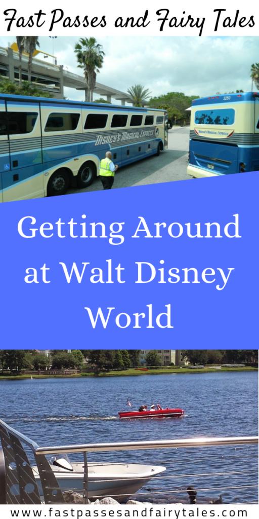 Getting Around at Walt Disney World