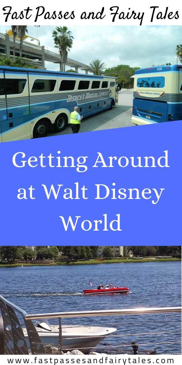 Getting Around at Walt Disney World