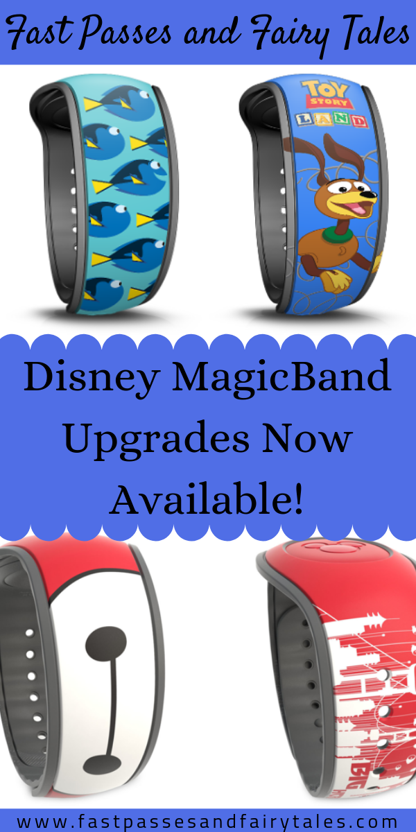 Disney MagicBand Upgrades Now Available
