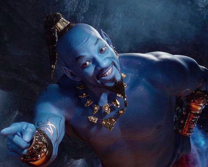 The Genie - Credit Disney Movies