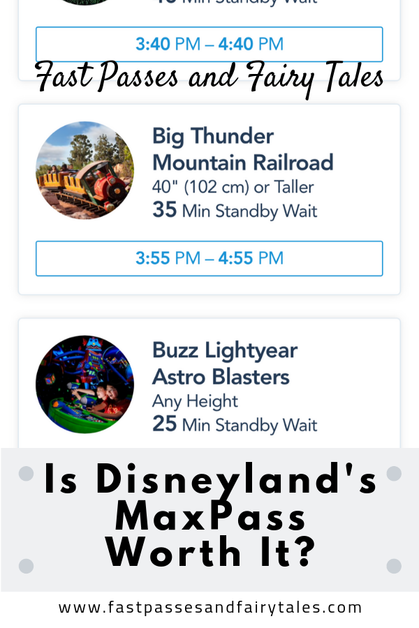 Is Disneylands MaxPass worth it