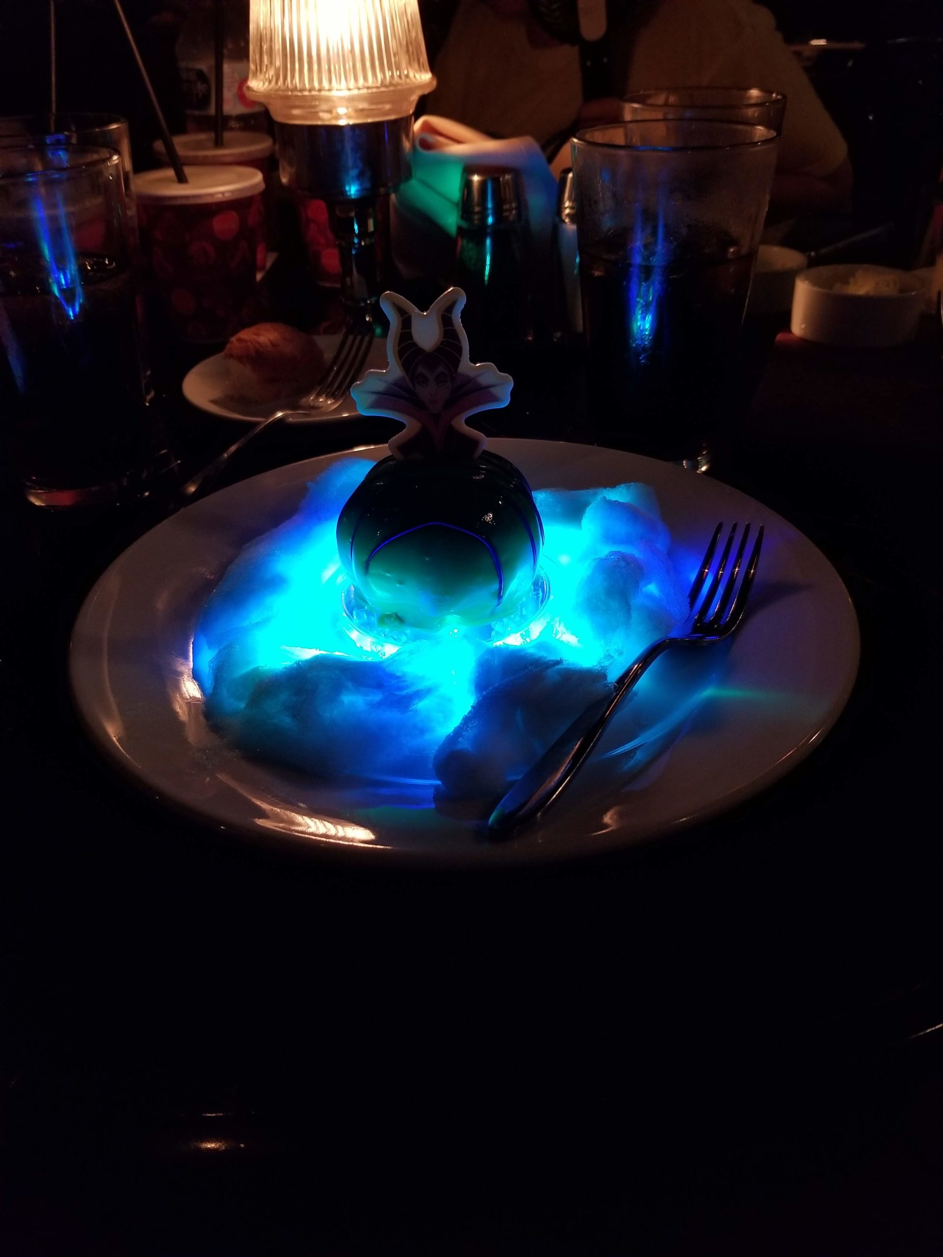 Disneyland's Blue Bayou Fantasmic Dining Package Dessert