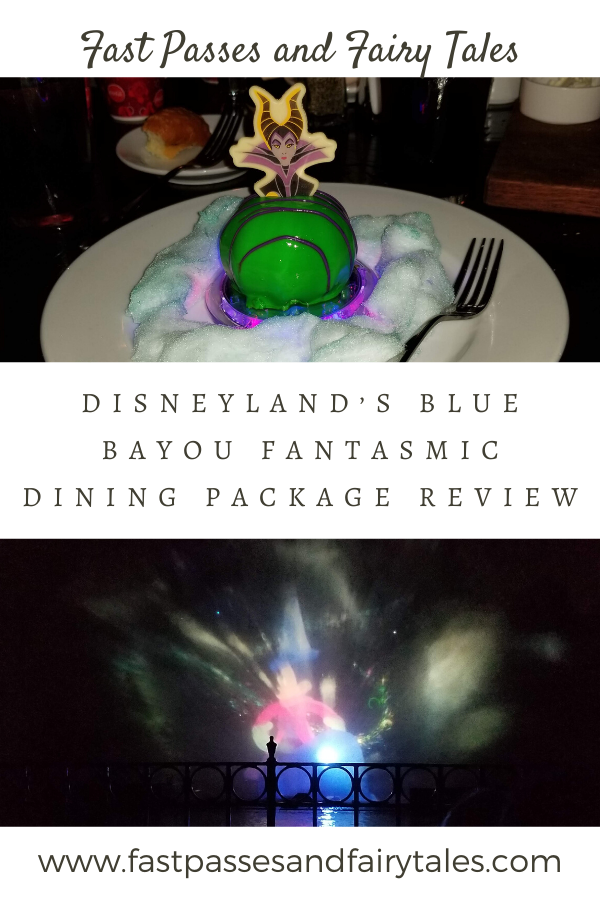 Disneyland's Blue Bayou Fantasmic Dining Package Review