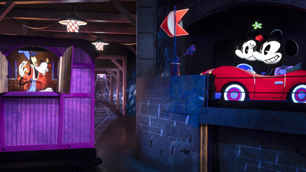 Mickey and Minnie's Runaway Railway Beginning - Credit Disney Blog