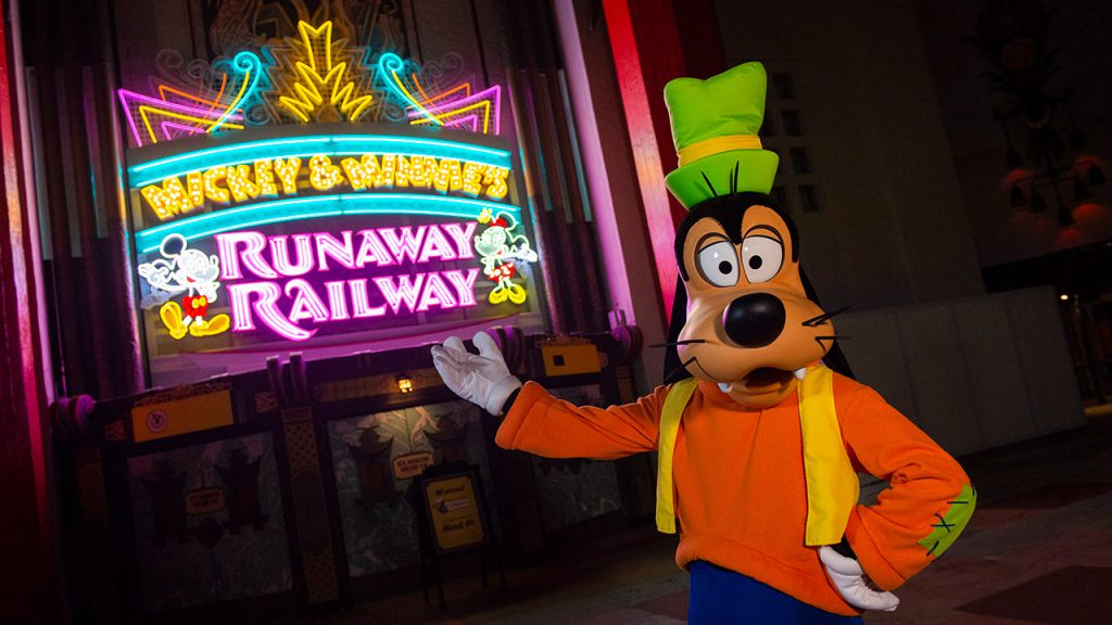 Mickey and Minnie's Runaway Railway Entrance - Credit Disney Blog