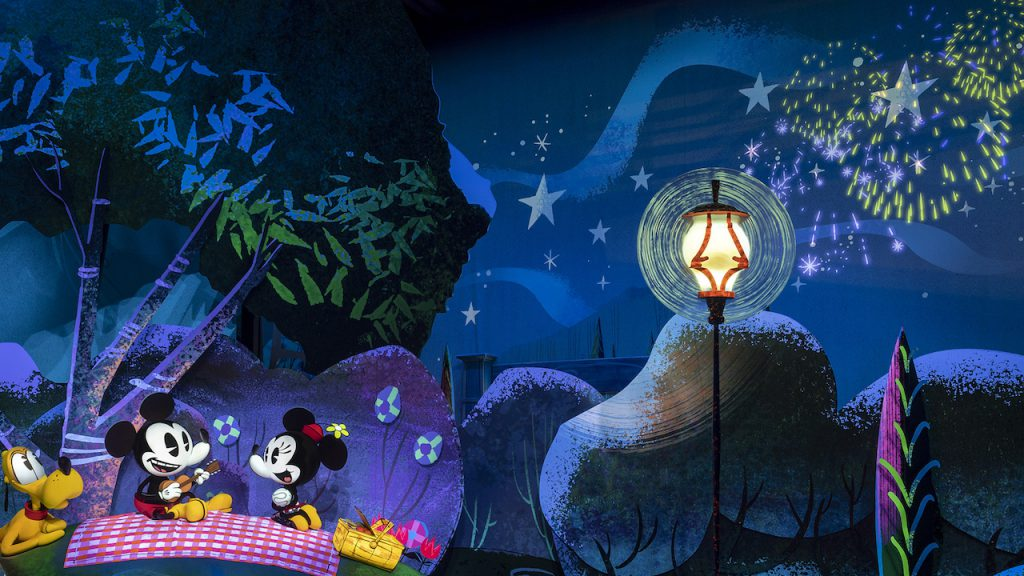 Mickey and Minnie's Runaway Railway Finale - Credit Disney Blog